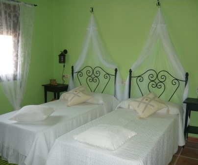 Habitacion Verde de la Casa Rural - La Marquesa del Candalar