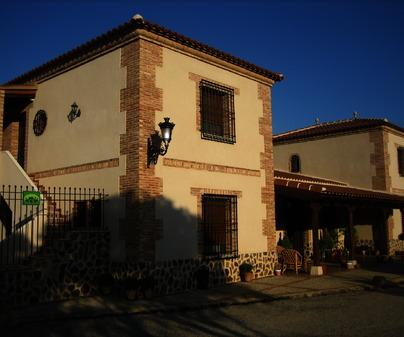 Fachada Casa Rural El Tamujo de Calatrava