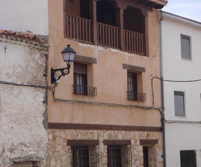 Fachada Casa Rural Ca la Quintina en Valdemeca (Cuenca)