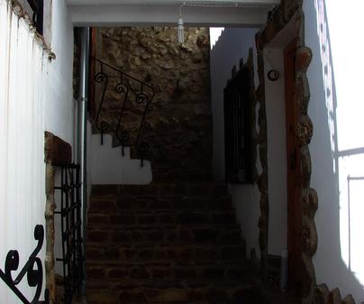 Fachada Casa Rural El Telar del Tio Josete en Huerto del Marquesado (Cuenca)