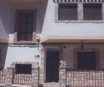 Entrada Casa Rural Diego Paleta Alcalá del Júcar (Albacete)