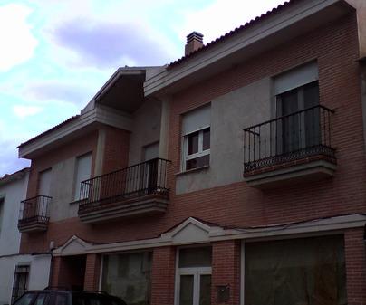 Fachada de Casa Rural Hidalgo II en Alcolea de Calatrava (Ciudad Real)