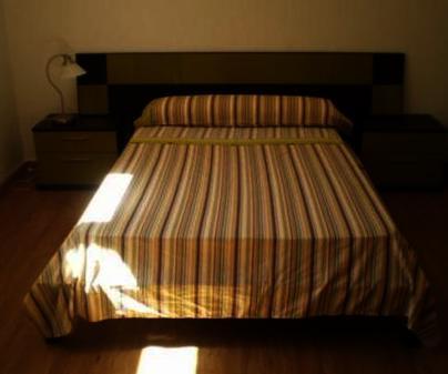 Dormitorio de la Casa Rural Añil en Ruidera (Ciudad Real)