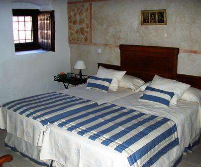 Habitación de Casa Rural Los Quintanares en Malagón (Ciudad Real)