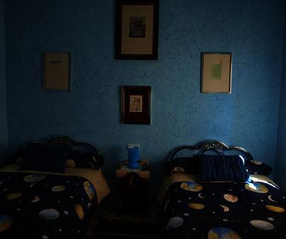 Habitación doble en Casa Rural El Pozo y La Estrella Buenache de Alarcón (Cuenca)
