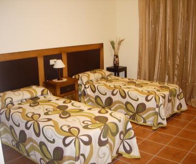 Habitación de Casa Rural El Rodeo en Cuerva (Tolrdo)