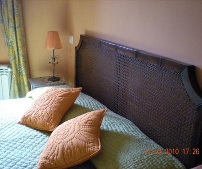 Dormitorio de Casa Rural El Cebadal en Torremocha de Jadraque (Guadalajara)