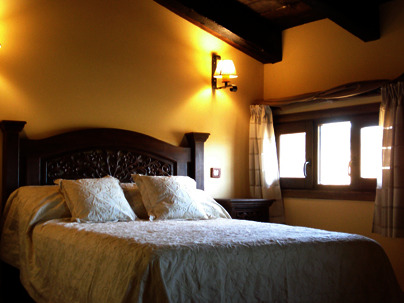 Habitación de Casa Rural La Posada de Alcudia en Brazatortas (Ciudad Real)