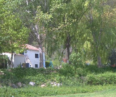 Panorámica de Casas Rurales Las Rochas en Alcalá del Júcar (Albacete)