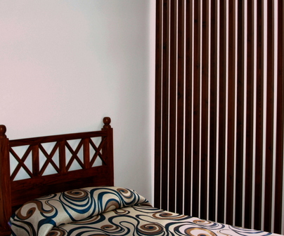 Dormitorio de Casa Rural La Casita Azul de Chillarón en Chillarón de Cuenca