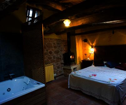 Habitación Casa Suite el Romero de Casa Rural La Tahona en Arbancón (Guadalajara)