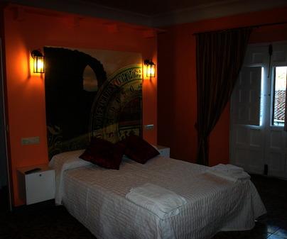 Dormitorio de Casa Rural La Casa del Renacimiento, en Alcaraz (Albacete)