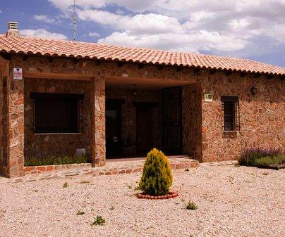 Exterior de la Casa Rural Robledo Pilarica - Casas Rurales Vía Verde