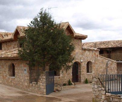 Fachada de Casa Rural Totote en Motilla del Palancar (Cuenca)