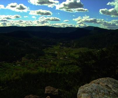 Vega del río Cabriel en Boniches de Casa Rural El Rodeno en Boniches (Cuenca)