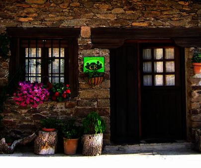 Fachada de Casa Rural La Melera en Gascueña de Bornova (Guadalajara)