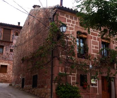 Fachada. Casa Rural Castillo de la Riba (Sigüenza, Guadalajara)