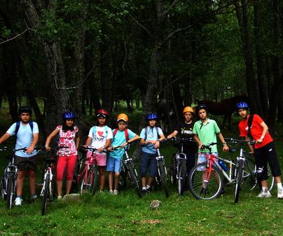 Cicloturismo BTT. Empresa de Turismo Activo Anticiclón