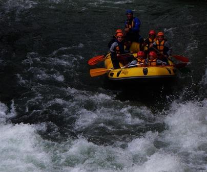 Rafting escolares de Empresa de Turismo Activo Altaïr en Enguídanos (Cuenca)