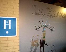 Hostal La Zarza, en Brazatortas (Ciudad Real)