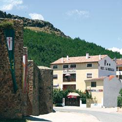 Hostal-Restaurante La Murralla, en Cañete (Cuenca)