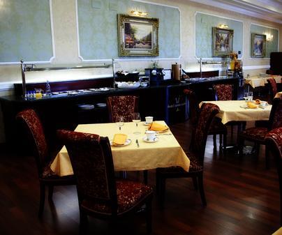 Hotel Santa Isabel, en Albacete. Restaurante