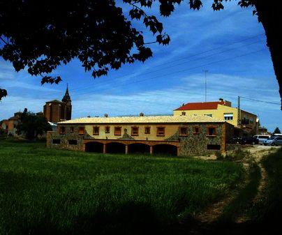 Hotel Rural Las Aldabas, en Villanueva de la Jara (Cuenca). Exterior