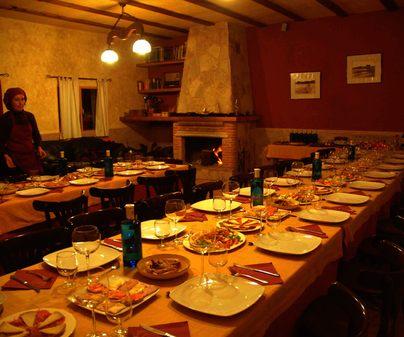 Hotel Rural Las Aldabas, en Villanueva de la Jara (Cuenca). Salón