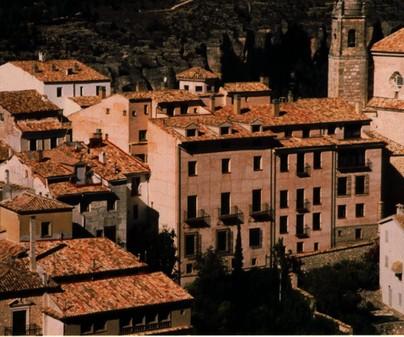 Vista aérea del Hotel Leonor de Aquitania