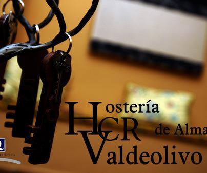 Cartel del Hotel Rural Hostería de Almagro Valdeolivo en Almagro (Ciudad Real)