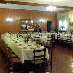 Restaurante La Granja, en Alcuneza (Guadalajara)