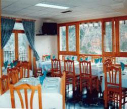 Restaurante El Goterón, en Ayna