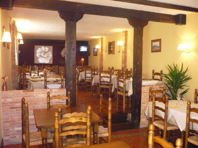Mesón Restaurante Moratín (Hostal Moratín), en Pastrana (Guadalajara)