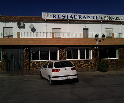 "Restaurante ""La Mojonera"". Malagón. Ciudad Real."