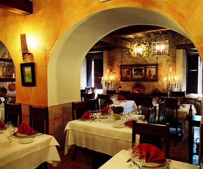 Restaurante Casas de Luján. Saelices (Cuenca)