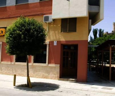 Fachada. Restaurante Casa Rogelio. Almansa (Albacete)