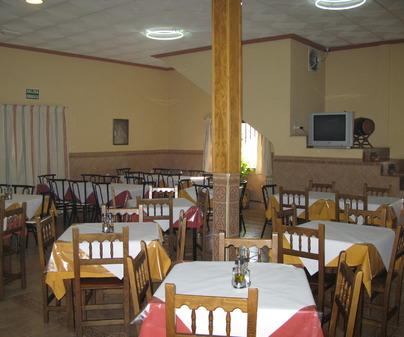 Comedor del Restaurante La Granja en Fuente el Fresno Ciudad Real)