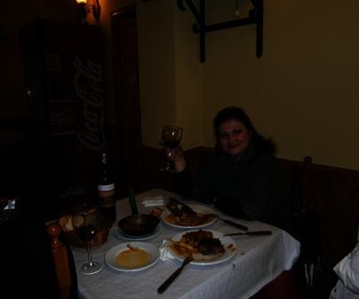 Restaurante Serrano, en Huete