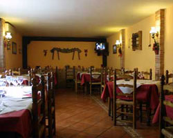 Mesón Restaurante Moratín, en Pastrana (Guadalajara)