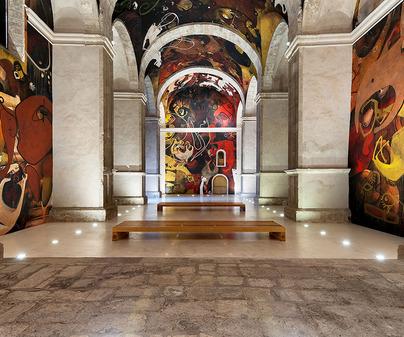 alarcon pinturas jesus mateo iglesia san juan bautista /<b>David Blázquez</b>