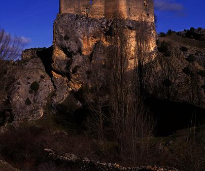 Vista del Castillo de Arbeteta /<b>Antonio Real Hurtado</b>