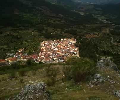 Vista de Cotillas desde el castillo