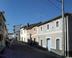 Calles típicas del Alcolea del Tajo