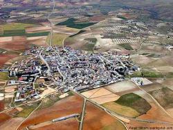 Villanueva de Bogas, vista aérea