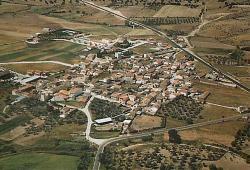 San Román de los Montes, vista aérea