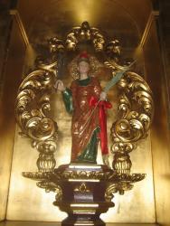 Imagen del Santo Patrón de Burujón: San Pantaleón