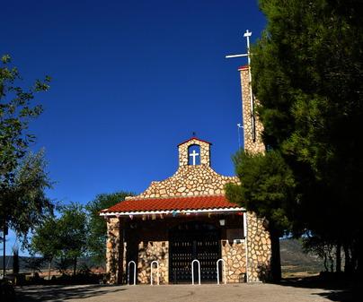 Ermita de San Sebastián y San Cayetano en Garcinarro (Cuenca)