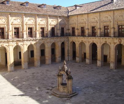 Interior del Monasterio de Uclés (Cuenca)