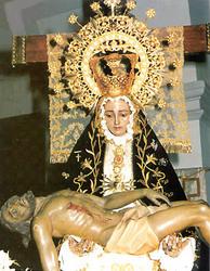 Virgen de las Angustias, Villaminaya