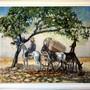 Exposición Jose Cruz Calderon. Pintura manchega siglo XX